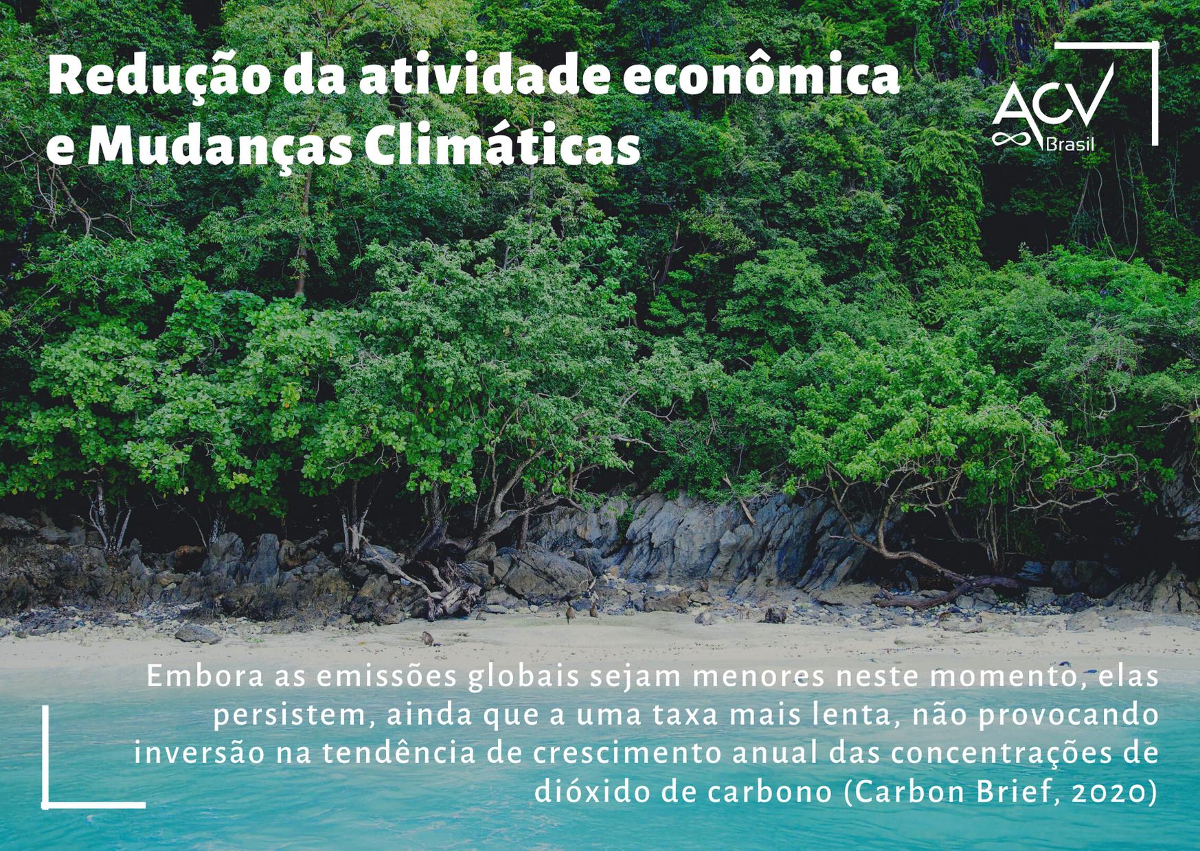 Atividade econômica e Mudanças Climáticas