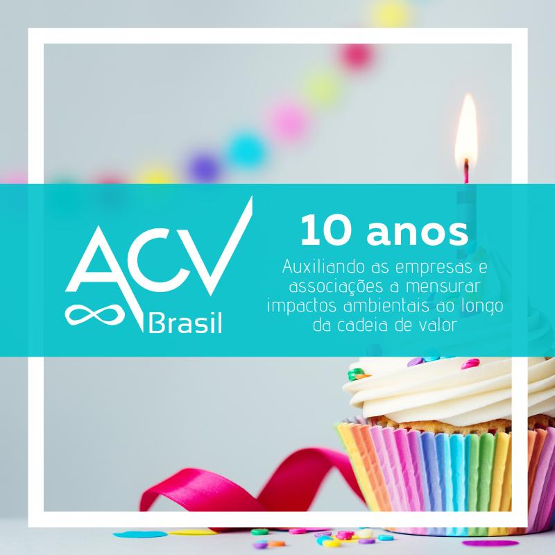 Aniversário de 10 anos da ACV Brasil