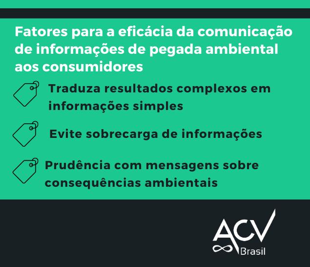 Como comunicar informações sobre Pegadas Ambientais de modo eficaz