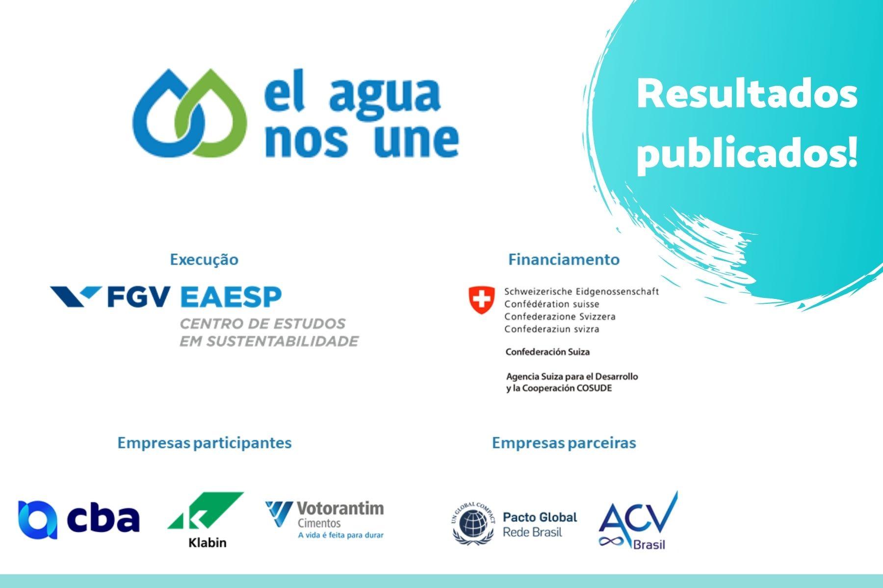 """Resultados da iniciativa """"El Agua nos Une"""", com apoio da ACV Brasil"""